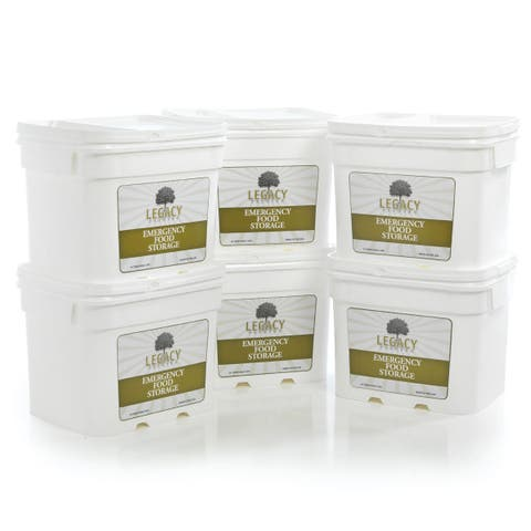Legacy Premium Food Storage Package (720 Servings)