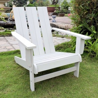 Link to International Caravan Royal Fiji Acacia Adirondack Chair Similar Items in Outdoor Sofas, Chairs & Sectionals