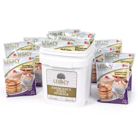 Legacy Premium Food Storage Breakfast Bucket (120 Servings)