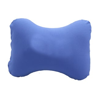 Worthy Blue Machine-washable Lumbar Pillow (Case of 10)