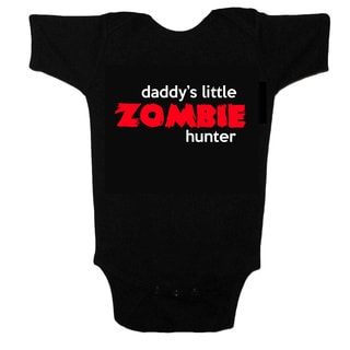 Daddy's Little Zombie Hunter Baby One-piece Bodysuit