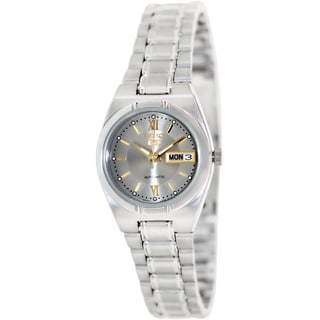 Seiko Women's '5' Stainless Steel Automatic Watch