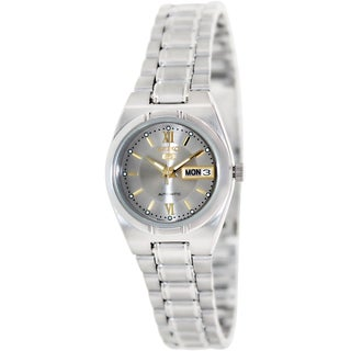 Seiko Women's SYM703K '5' Stainless Steel Automatic Watch|https://ak1.ostkcdn.com/images/products/8777444/P16017222.jpg?_ostk_perf_=percv&impolicy=medium
