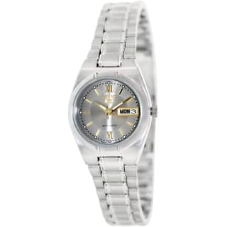 Seiko Women's SYM703K '5' Stainless Steel Automatic Watch|https://ak1.ostkcdn.com/images/products/8777444/P16017222.jpg?impolicy=medium