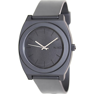 Nixon Men's Black Dial Polyurethane Quartz Watch