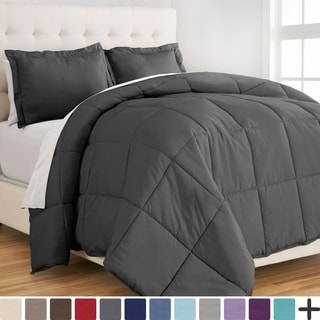 Ultra-Soft Premium 1800 Series Goose Down Alternative Comforter Set