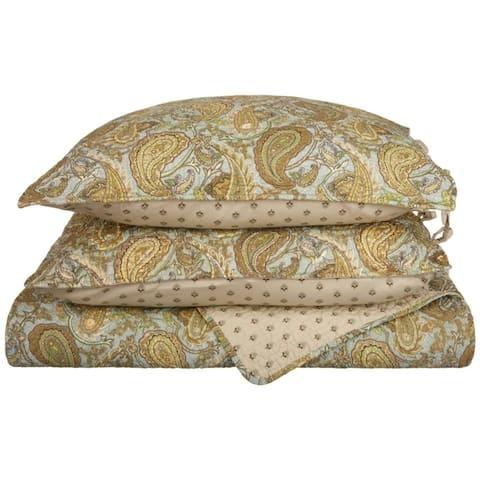 Miranda Haus Waldram Cotton 3-piece Quilt Set