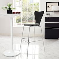 Clay Alder Home Queensboro Series 7 Chrome Base Chair Bar Stool