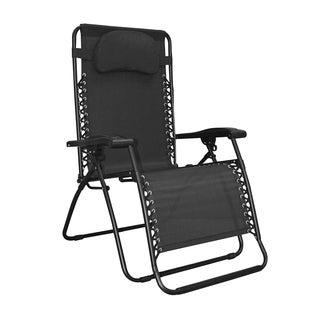 Caravan Canopy Infinity Black Oversized Zero Gravity Chair