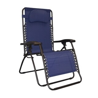 Caravan Canopy Infinity Oversized Blue Zero Gravity Chair