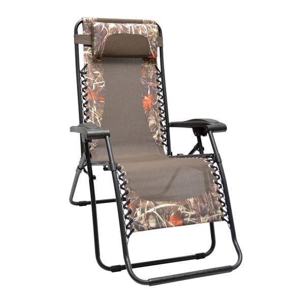 Genial Caravan Sports Infinity Zero Camouflage Zero Gravity Chair