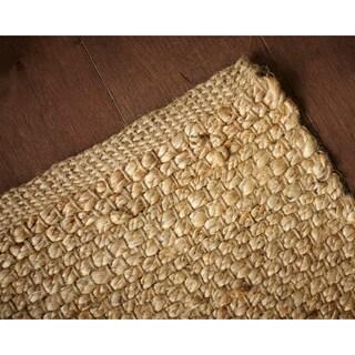Jani Orta Natural Hand-woven Jute Rug (8' x 10')