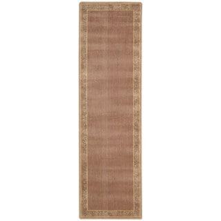 Somerset Rust/ Beige Area Rug (2' x 5'9)