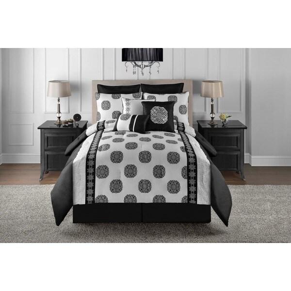 VCNY Metropolis Celeste 9-piece Comforter Set