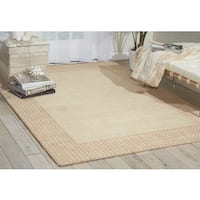 kathy ireland Cottage Grove Bisque Area Rug by Nourison - 8' x 10'6