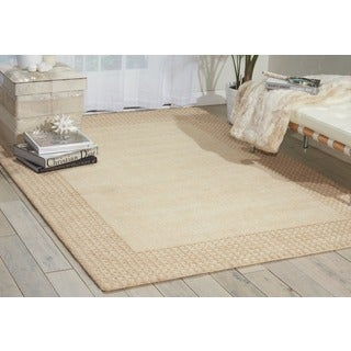 kathy ireland Cottage Grove Bisque Area Rug by Nourison (8' x 10'6)