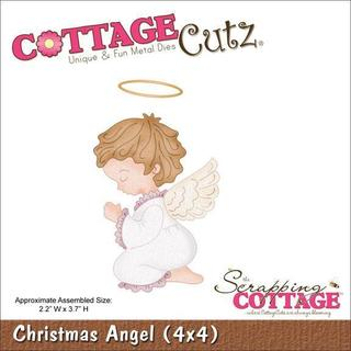 CottageCutz Die 4 X4  - Christmas Angel