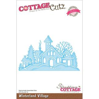 CottageCutz Elites Die 4.5 X2.6 - Winterland Village