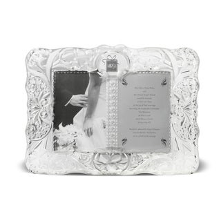 Mikasa Cherished Moment 5x7-inch Clear Glass Frame