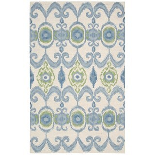 Hand-tufted Siam Ivory Wool Area Rug (8' x 10'6)