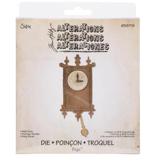 Sizzix Bigz Die By Tim Holtz 5.5 X6  - Wall Clock