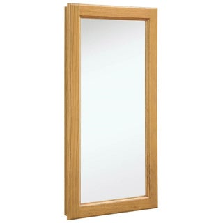 Design House '541193 Richland' Nutmeg Oak Medicine Cabinet and Mirror