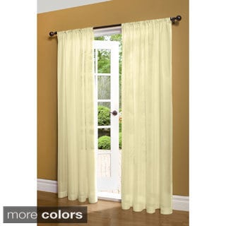 Thermalogic Weathershield Insulated Energy-saving Sheer 84-inch Curtain Panel - 50 x 84