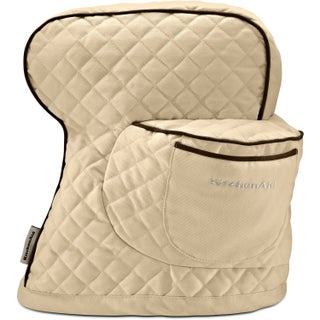 KitchenAid Quilted Cotton Tilt-Head Stand Mixer Cover (Option: Khaki)
