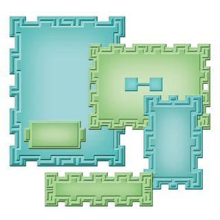 Spellbinders Nestabilities A2 Card Creator Dies - Tile Works