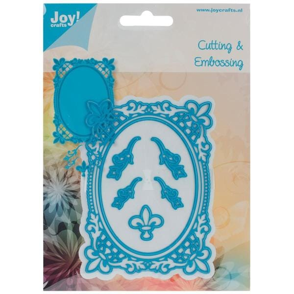 Joy! Crafts Cut & Emboss Die  - French Lily Oval
