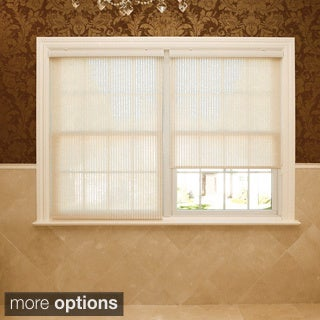 Aurora Home Premium Single-roller Beige Window Shade