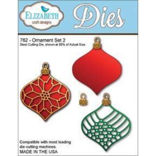 Elizabeth Craft Metal Die - Ornament Set 2