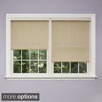 Aurora Home Premium Mushroom Linen Look Roller Window Shade