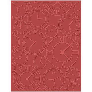 eBosser Embossing Folders Universal Size By Teresa Collins - About Time