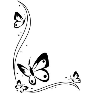 Embossing Folder 4.25 X5.75  - Butterflies