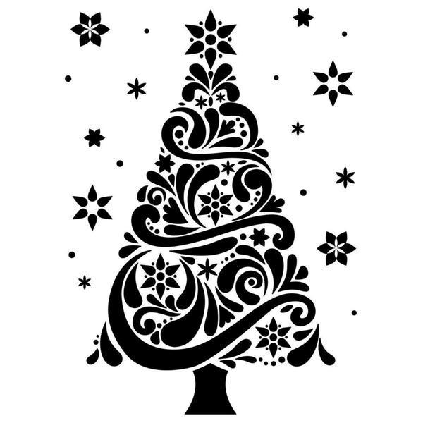 Darice Embossing Folder 4.25 X5.75 - Christmas Tree