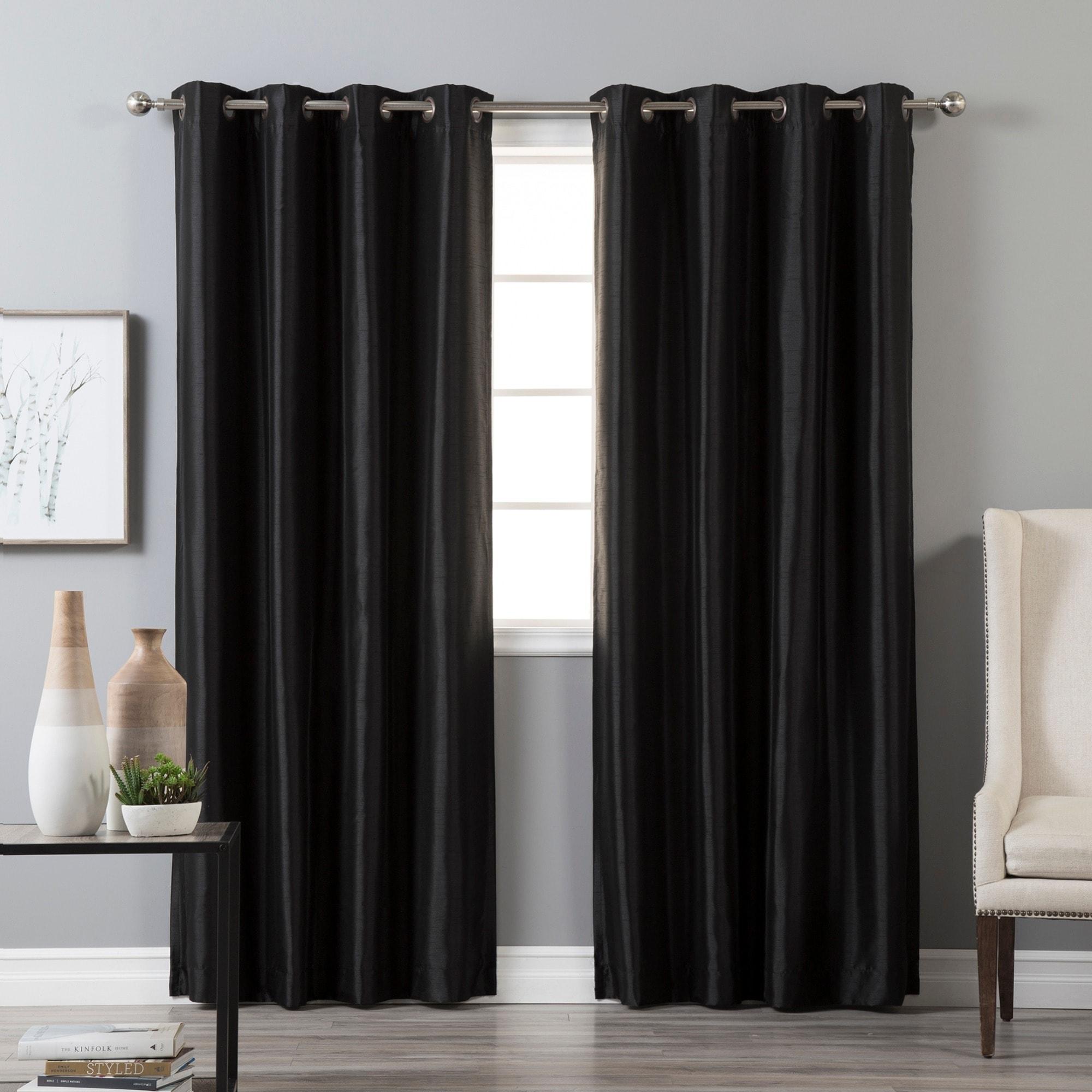 Aurora Grommet Top Curtain Panel Sage