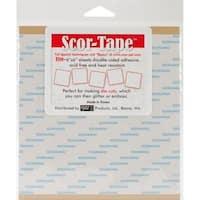 Scor-Tape Sheets 5/Pkg - 6 X6