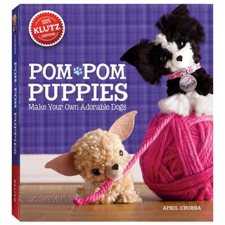 Pom-Pom Puppies Book Kit -