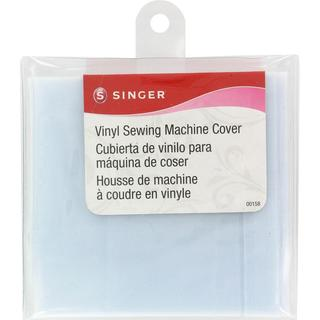 Vinyl Sewing Machine Cover - Frosted 15-1/2 X9-1/8 X6