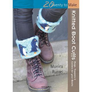 Search Press Books - Knitted Boot Cuffs (20 To Make)