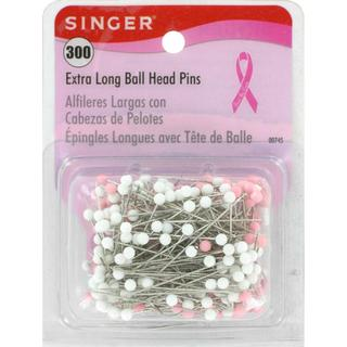 Extra Long Ball Head Pins - 300/Pkg