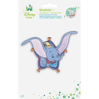 Disney Dumbo Flying Iron-On Applique -