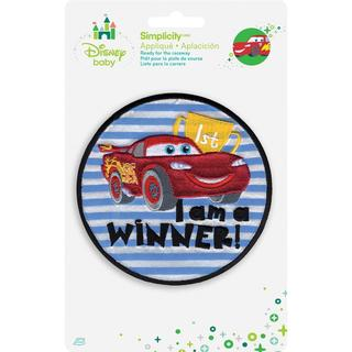 Disney Cars I'm A Winner Iron-On Applique -