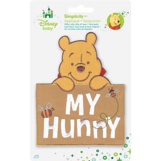 Disney Winnie The Pooh My Hunny Iron-On Applique -