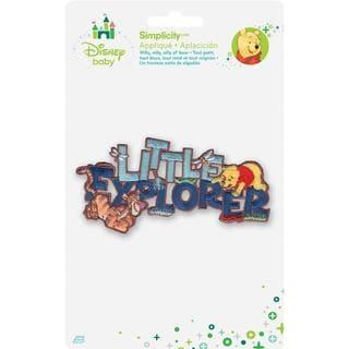 Disney Winnie The Pooh Little Explorer Iron-On Applique -