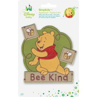 Disney Winnie The Pooh Bee Kind Iron-On Applique -