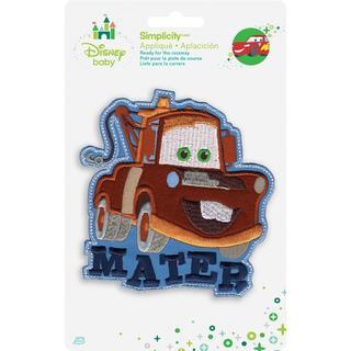 Disney Cars Mater Iron-On Applique -