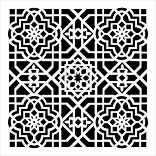 Crafter's Workshop Templates 6  X6   - Ceiling Tile
