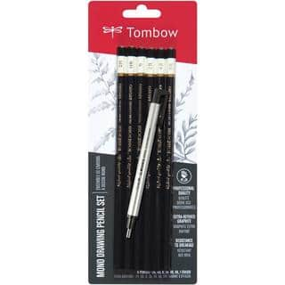 Tombow MONO Drawing Pencils 6/Pkg & Eraser Set - Black|https://ak1.ostkcdn.com/images/products/8779863/P16019330.jpg?impolicy=medium